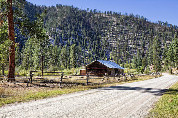 Photograph - Country Road In Montana by Tatiana Travelways