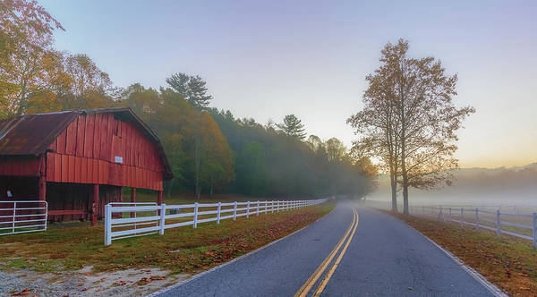 Photograph - Country Road Pisgah Forest, Nc by Donnie Whitaker