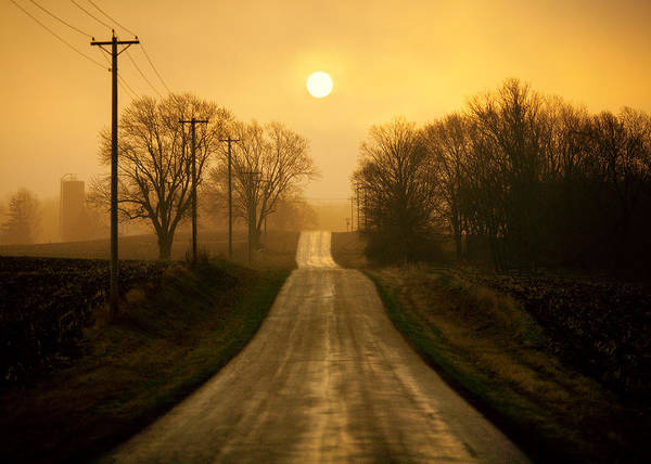 Photograph - Country Road by Todd Klassy