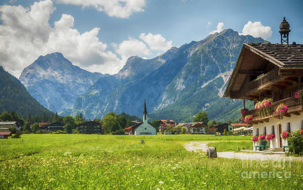 Photograph - country side living in area Achensee by Ariadna De Raadt