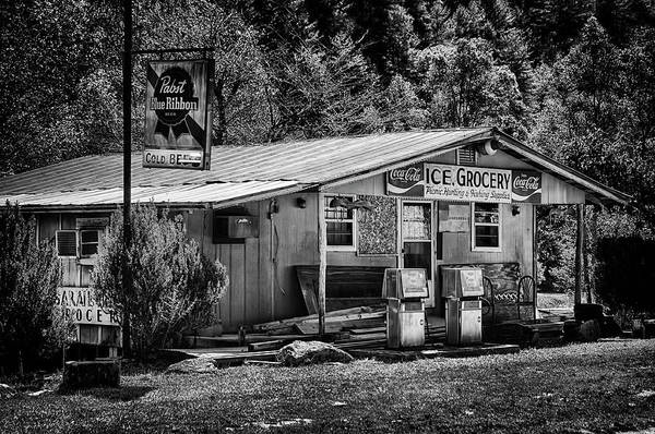 Photograph - Ice, Grocery by Mick Burkey