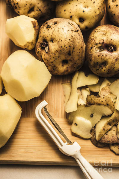 Potato Photograph - Country Style Cooking by Jorgo Photography - Wall Art Gallery