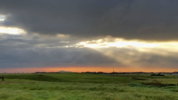 Photograph - Country Sunset by Pamela Walton