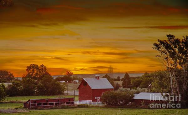 Wall Art - Photograph - Country Sunset by Robert Bales