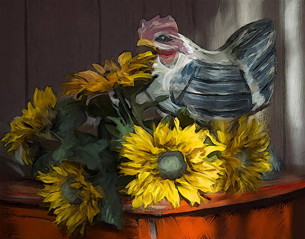 Wall Art - Photograph - Country Table by Dave Sandt