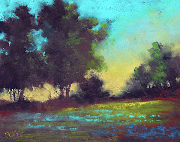 Wall Art - Painting - Country Twilight by David G Paul