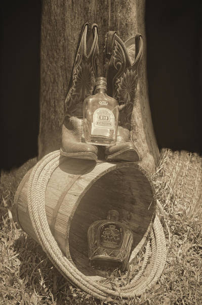 Mixed Media - Country Whiskey by Pamela Walton