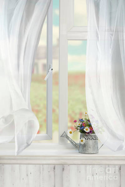 Wall Art - Photograph - Country Window by Amanda Elwell