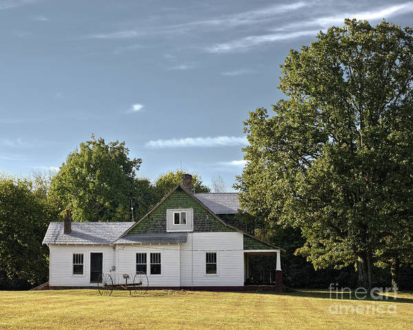 Photograph - Countryside Farmhouse by Patrick M Lynch