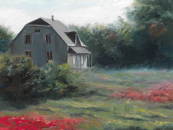 Painting - Countryside House by Lucie Bilodeau