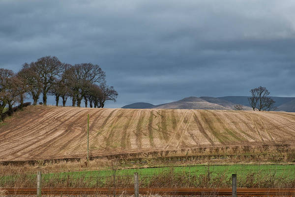 Photograph - Countryside In Central Scotland by Jeremy Lavender Photography