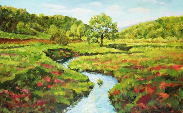Painting - Countryside Landscape by Ingrid Dohm