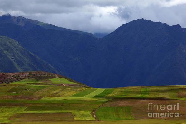 Photograph - Countryside Near Cusco Peru by James Brunker