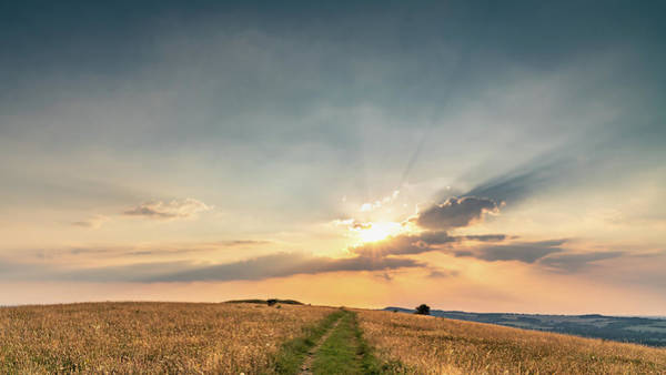Photograph - Countryside Sunset by Framing Places