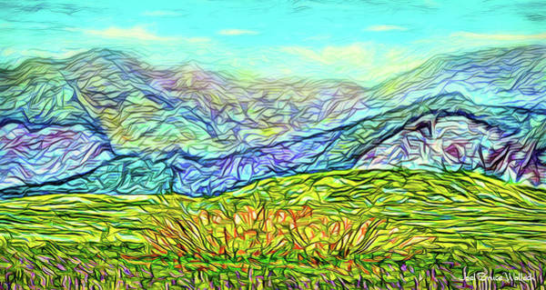 Digital Art - Countryside Vista by Joel Bruce Wallach