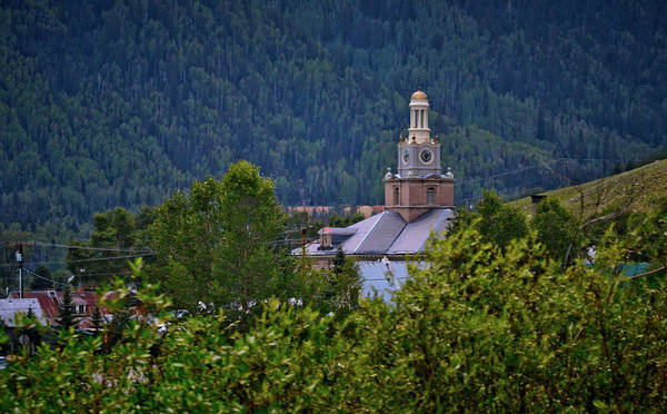 County Courthouse In Silverton Art Print