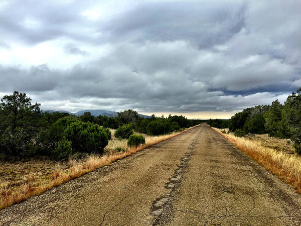 Photograph - County Road by Brad Hodges