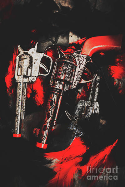 Revolver Photograph - County Slingers  by Jorgo Photography - Wall Art Gallery