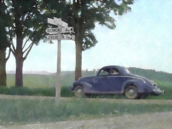 Digital Art - Coupe In The Countryside by David King