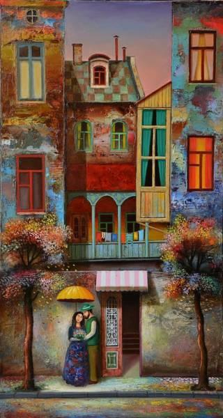 Create Painting - Couple In Love by David Martiashvili