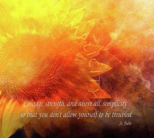 Courage Digital Art - Courage by Terry Davis