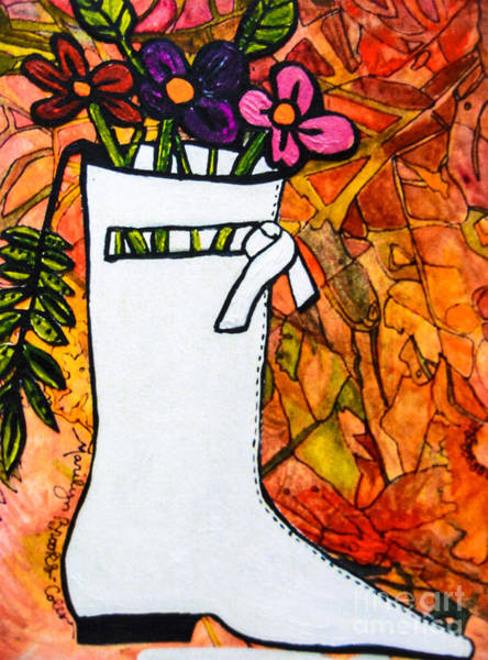 Painting - Courreges by Marilyn Brooks