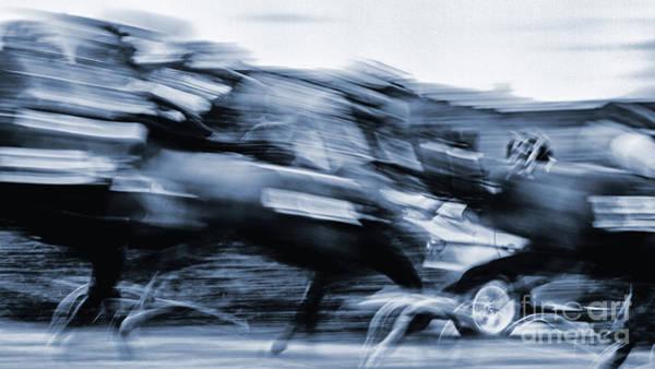 Photograph - Course De Galop by Jorg Becker
