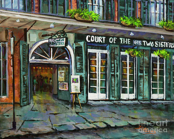Painting - Court Of The Two Sisters by Dianne Parks