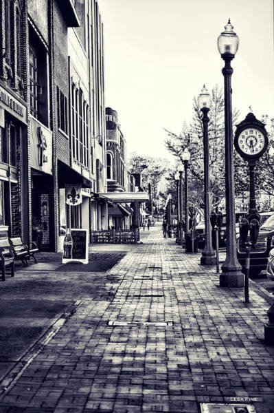 Court Street Clock Florence Alabama Art Print