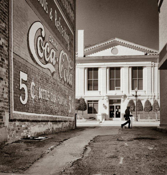 Photograph - Courthouse Alley - Laurens, Sc by Samuel M Purvis III