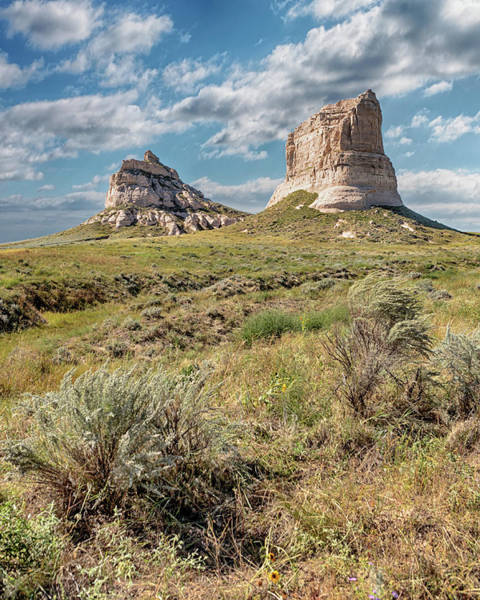 Photograph - Courthouse And Jail Rocks by Susan Rissi Tregoning
