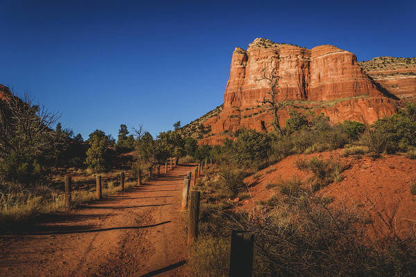 Photograph - Courthouse Butte And Bell Rock Trail by Andy Konieczny