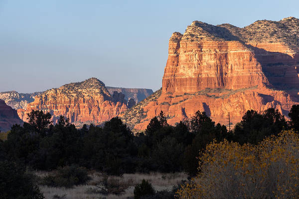 Photograph - Courthouse Butte From The Ranger Station by Ed Gleichman
