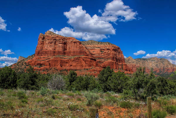 Photograph - Courthouse Butte by Ola Allen