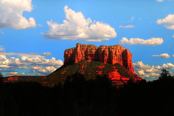 Photograph - Courthouse Butte Sedona Arizona by Ola Allen