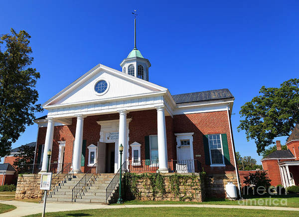 Photograph - Courthouse In The Town Of Appomattox by Jill Lang