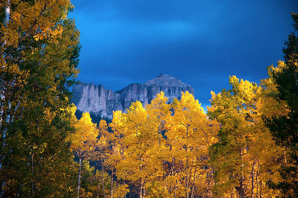 Photograph - Courthouse Mountain by Steve Stuller