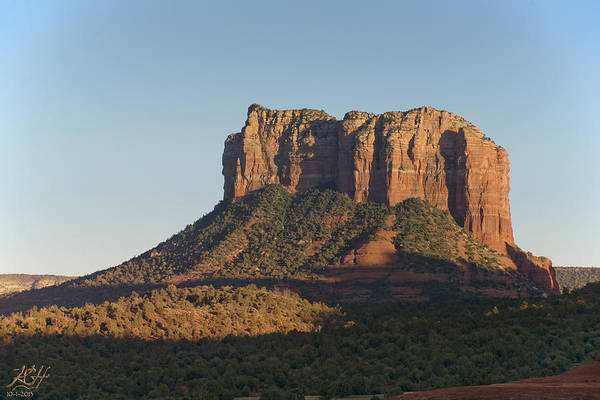 Photograph - Courthouse Rock by Kenneth Hadlock