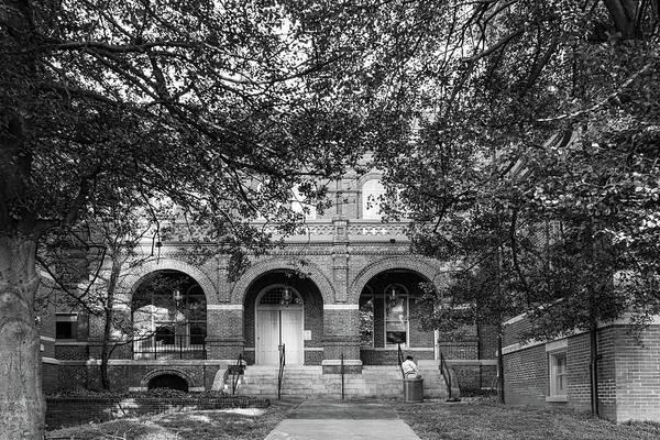 Photograph - Courthouse Smoke Break by Sharon Popek