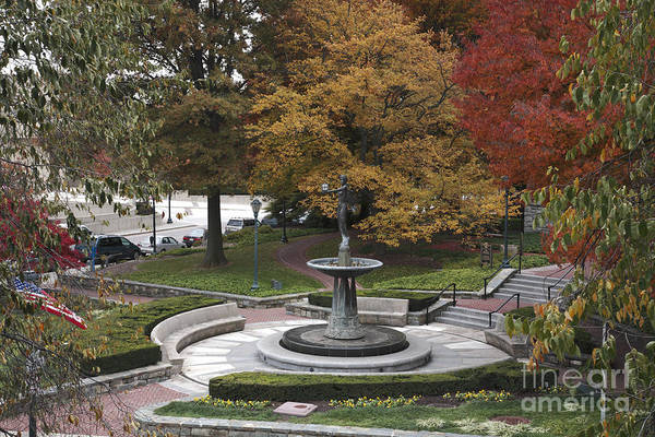 Rockville Photograph - Courthouse Square In Rockville Maryland by William Kuta