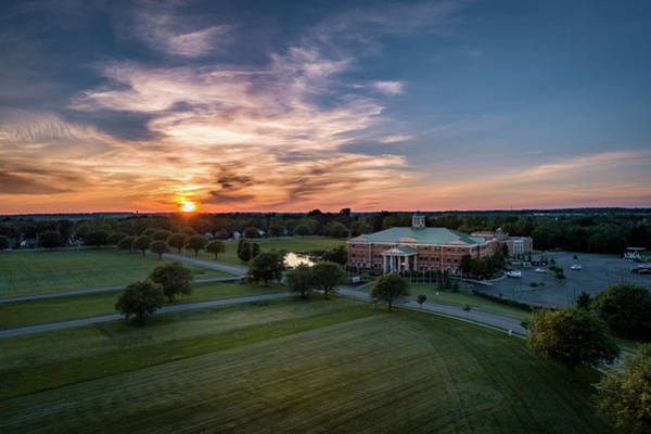 Photograph - Courthouse Sunset by Nick Smith