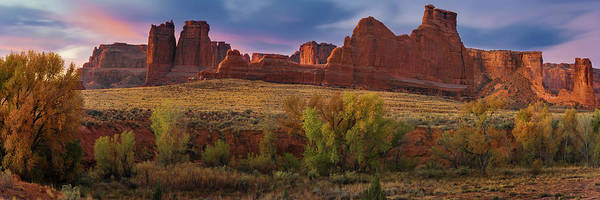 Wall Art - Photograph - Courthouse Wash - Arches Np by T-S Fine Art Landscape Photography