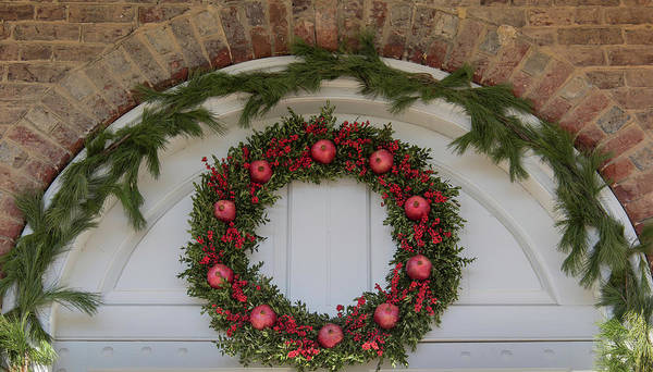 Wall Art - Photograph - Courthouse Wreath by Teresa Mucha