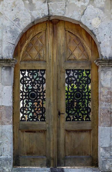 Photograph - Courtyard Door In Villereal by Georgia Fowler