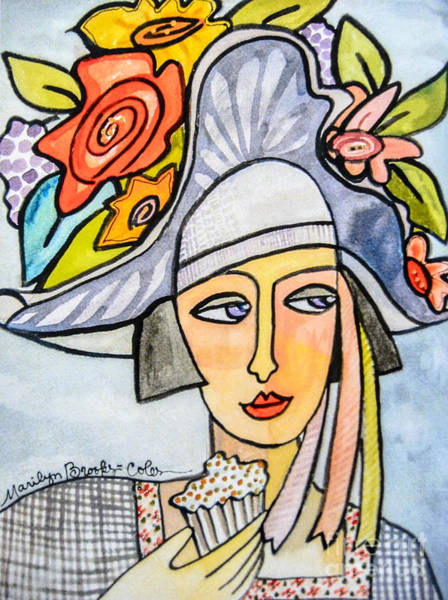 Painting - Couture Chapeau by Marilyn Brooks