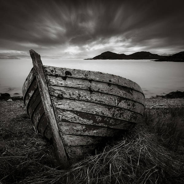 Wall Art - Photograph - Cove Boat by Dave Bowman