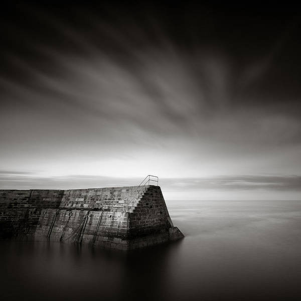 Photograph - Cove Breakwater by Dave Bowman