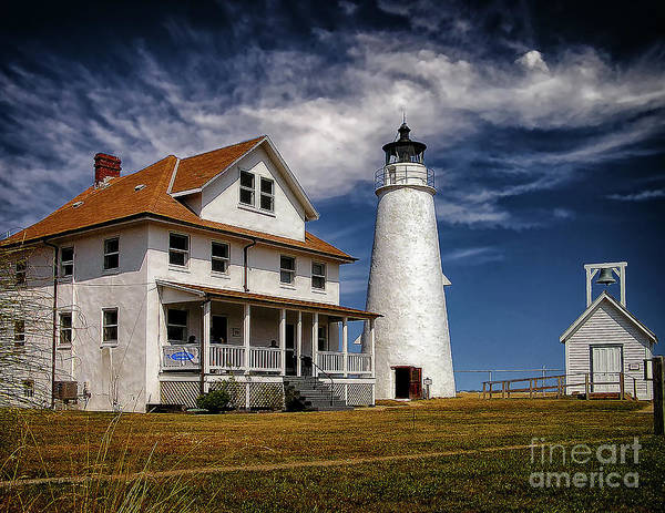 Photograph - Cove Point Lighthouse by Nick Zelinsky