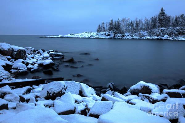 Photograph - Cove Point Lodge Lake Superior Minnesota by Wayne Moran