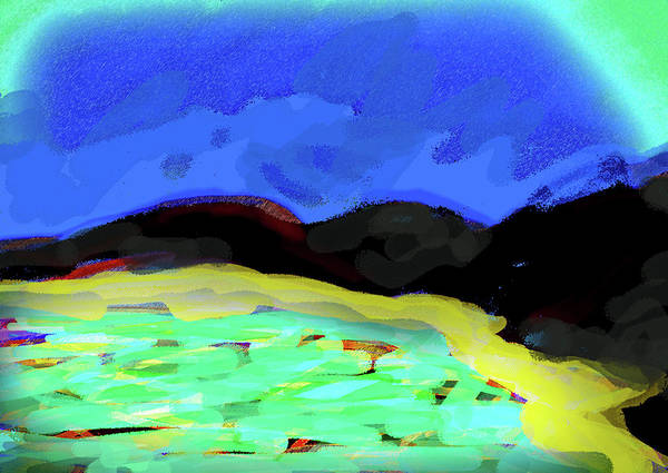 Mixed Media - Cove Sketch 1  by Paul Sutcliffe